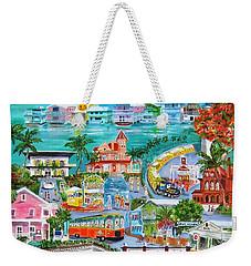 Island Daze Weekender Tote Bag