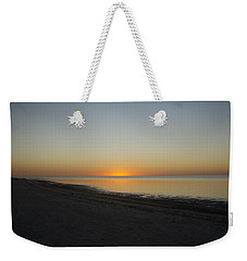 Weekender Tote Bag featuring the photograph Island Sunset by Robert Nickologianis