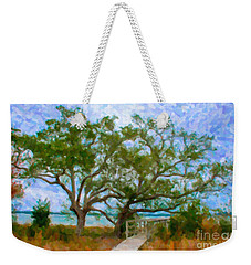 Island Time On Daniel Island Weekender Tote Bag