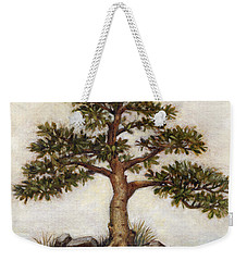 Island Tree Weekender Tote Bag