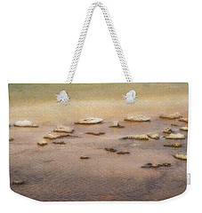 Weekender Tote Bag featuring the photograph Islands In The Stream by Nadalyn Larsen