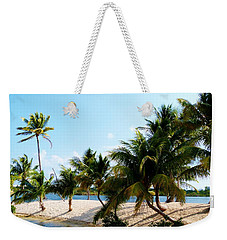 Weekender Tote Bag featuring the photograph Isle @ Camana Bay by Amar Sheow