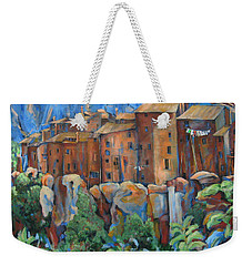 Isola Di Piante Large Italy Weekender Tote Bag