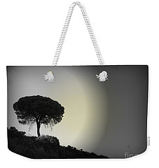 Weekender Tote Bag featuring the photograph Isolation Tree by Clare Bevan