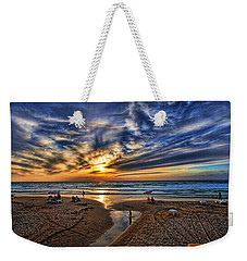 Weekender Tote Bag featuring the photograph Israel Sweet Child In Time by Ron Shoshani