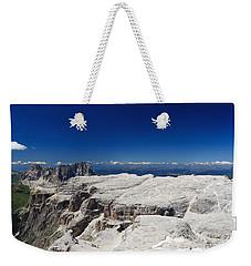 Italian Dolomites - Sella Group Weekender Tote Bag