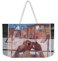 Italian Painting Reflection Weekender Tote Bag