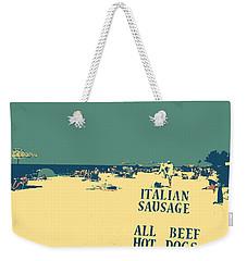 Italian Sausage Weekender Tote Bag by Valerie Reeves