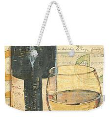 Italian Wine And Grapes 1 Weekender Tote Bag by Debbie DeWitt