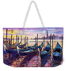 Italy Venice Early Mornings Weekender Tote Bag