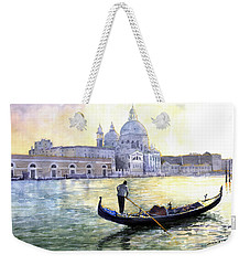Italy Venice Morning Weekender Tote Bag