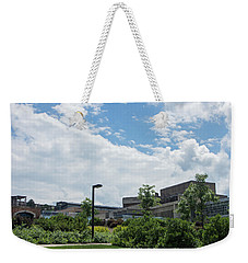Ithaca College Campus Weekender Tote Bag by Photographic Arts And Design Studio