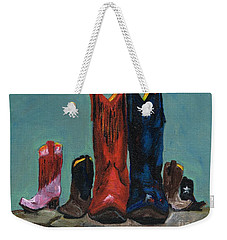 It's A Family Tradition Weekender Tote Bag