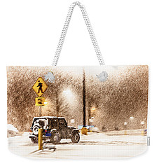 It's A Jeep Thing Weekender Tote Bag by Sennie Pierson