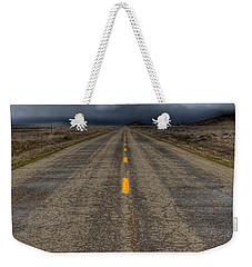 It's A Long Road Weekender Tote Bag