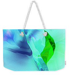 Weekender Tote Bag featuring the digital art It's A Mystery  by David Lane