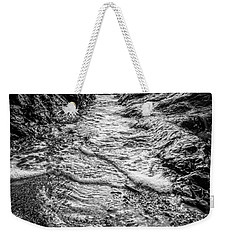 It's A Rush Browns Beach  Weekender Tote Bag by Roxy Hurtubise