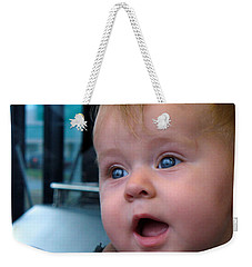 Weekender Tote Bag featuring the photograph It's A Wonderful World by Lingfai Leung