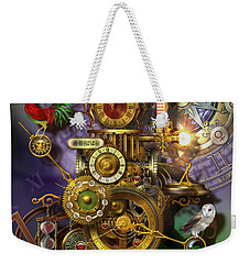 Its About Time Weekender Tote Bag by Ciro Marchetti