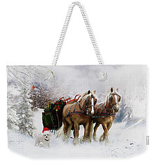 A Christmas Wish Weekender Tote Bag