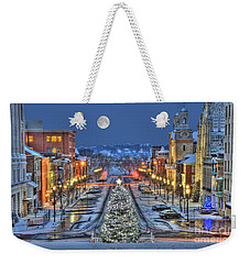 It's Christmas Time In The City Weekender Tote Bag