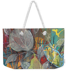 It's Electric Weekender Tote Bag by Robin Maria Pedrero
