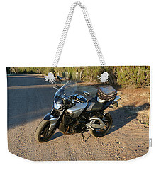 Weekender Tote Bag featuring the photograph It's Good To B-king by David S Reynolds