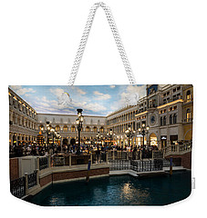 It's Not Venice Weekender Tote Bag by Georgia Mizuleva