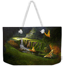Gods Promise Weekender Tote Bag by Loxi Sibley