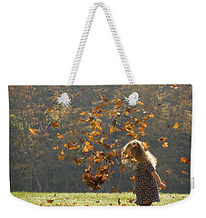 It's Raining Leaves Weekender Tote Bag