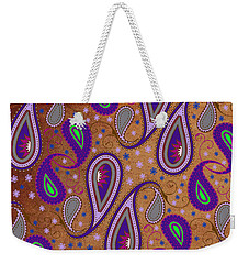 It's Raining Paisley Series 1 Weekender Tote Bag