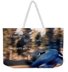 It's The Finish 21169 Weekender Tote Bag