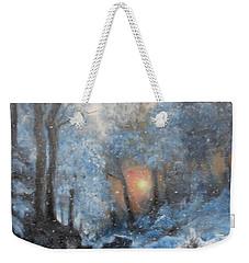 It's Winter Weekender Tote Bag