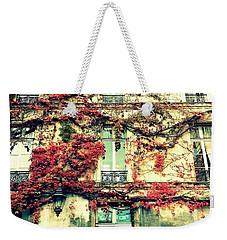 Ivy Growing On A Wall   Weekender Tote Bag