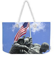 Iwo Jima Memorial Weekender Tote Bag