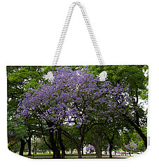Jacaranda In The Park Weekender Tote Bag