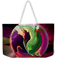 Jack In The Pulpit Globe Weekender Tote Bag by Robin Moline