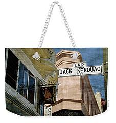 Jack Kerouac Alley And Vesuvio Pub Weekender Tote Bag by RicardMN Photography