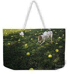 Jack Russell Terrier Tennis Balls Weekender Tote Bag