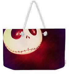 Jack Skellington Glowing Weekender Tote Bag