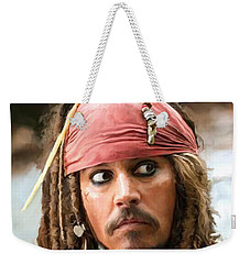 Jack Sparrow Weekender Tote Bag