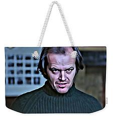 Jack Torrance Weekender Tote Bag by Florian Rodarte