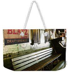 Jack's Bench Weekender Tote Bag