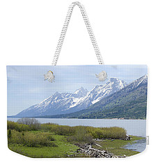 Jackson Lake Weekender Tote Bag