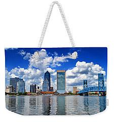 Jacksonville Skyline Weekender Tote Bag