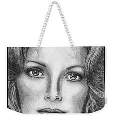 Jaclyn Smith In 1976 Weekender Tote Bag