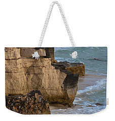 Jagged Shore Weekender Tote Bag