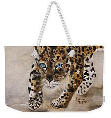 Big Cat Stalk Weekender Tote Bag