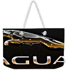 Jaguar Leaper F-type Spoiler Weekender Tote Bag