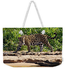 Jaguar River Walk Weekender Tote Bag